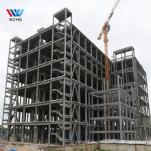 Fast Install Prefabricated Steel Frame Building Construction Projects multi-level steel structure Hotel
