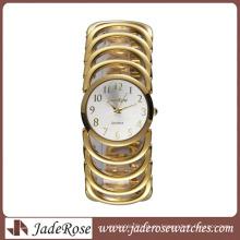 Reloj elegante y caliente de la aleación de la pulsera de la venta de moda para la señora