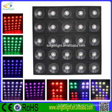 Disco 5x5 led matrix painel 25x30 fase de fundo