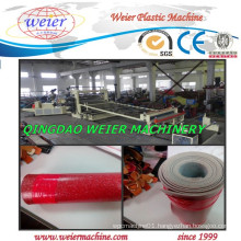 PVC Plastic Roll Soft Waterproof Flooring Covering Extrusion Machine