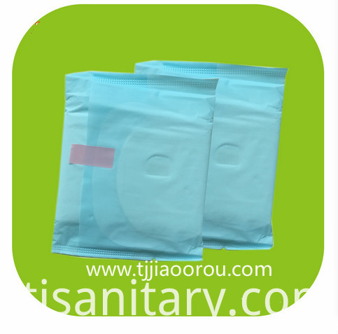 blue core sanitary towel