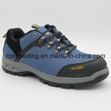 China Black PU Injection Safety Shoes Price/Black Executive Safety Shoes