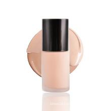 30ml Glass Bottle Organic Makeup Foundation Skin Brightening Concealer Liquid Foundation Private Label