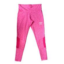 Pantalon de sport de tissu de cation de polyester pour la course de femmes, le vélo, l'usage de yoga