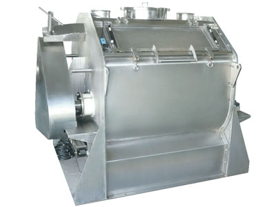 Horizontal Paddle Mixer for Dry Mortar with Chopper