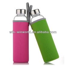 Botellas de agua en blanco de Pyrex con logotipo personalizado