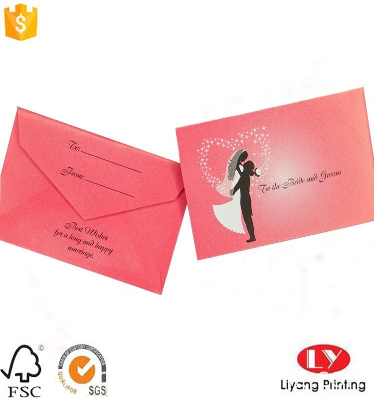 gift card envelop packaging