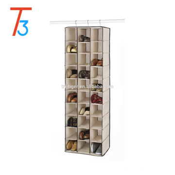 Hanging shoe store shelf 30 Sections with hot selling