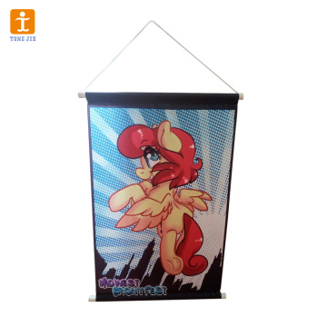 Custom high-quality hanging banner printing