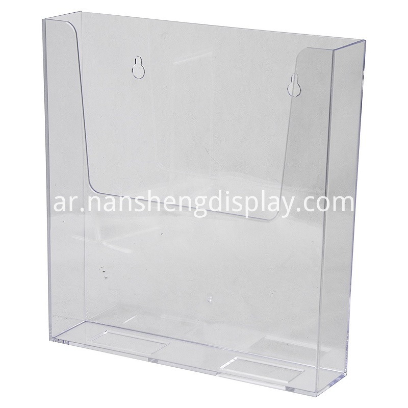 acrylic magazine holders display
