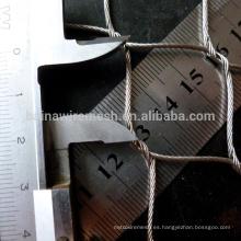 Malla flexible de alambre de acero inoxidable / malla de alambre tejido