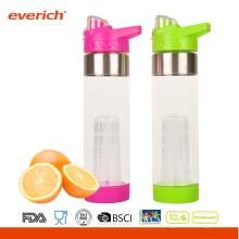 Neue Ankunfts-kundenspezifische Sport-Flaschen mit Knopf-Deckel