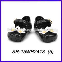 Цветок мелисса кристалл желе обувь ПВХ желе обувь пластиковый башмак