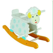 Wooden Baby Chair Sheep Rocker for Kids and Children