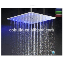 Tête de douche de pluie montée au plafond Tête de douche de douche double spa