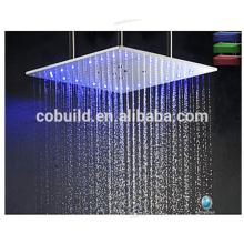 Chuveiro de chuveiro de chuva montado no teto cabeça de chuveiro com banheira de chuva dupla