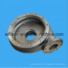 Shell de pompe à eau de bâti d'acier inoxydable (bâti de précision)