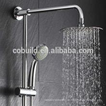 Cabeza de ducha de 8 pulgadas 304 Cabeza de ducha de lluvia de baño de acero inoxidable Cabeza de ducha de lluvia montada en el techo