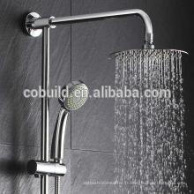 Tête de douche de 8 pouces 304 acier inoxydable salle de bains pluie tête de douche plafond monté tête de douche de pluie