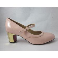 2016 Fashion High Heel Chunky Damen Kleid Schuhe (HCY03-101)