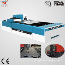 CNC YAG Laser Cutting Machine for 12mm Mild Steel (GN-CY3015-850)