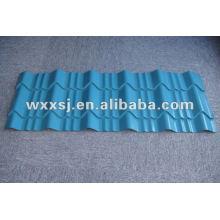 prepintada hoja del azulejo de azotea galvanizado del esmalte