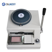 Shenzhen Guangzhou Manual DogTag Embossing Machine / Metal Tag Embosser for Military Army Use