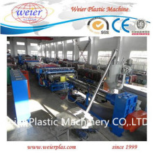 PC Polycarbonate Sunshine Sheet Machine / PP Hollow Board Extrusion Line / Hollow Grid Extrusora