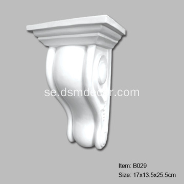 PU Plain Decorative Corbels