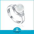 High Quality 925 Sterling Silver Pearl Ring