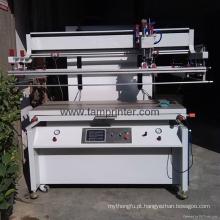 Impressora elétrica da tela lisa da grande adsorção do vácuo para o vidro