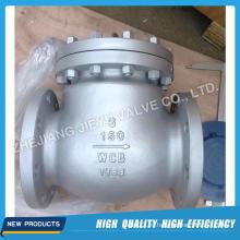ASTM / JIS / DIN Válvula de retención de oscilación tipo H44 de fábrica
