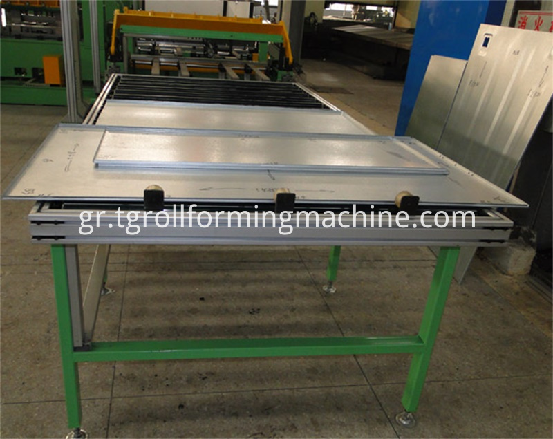 Refrigerator Back Panel Roll Forming Machine