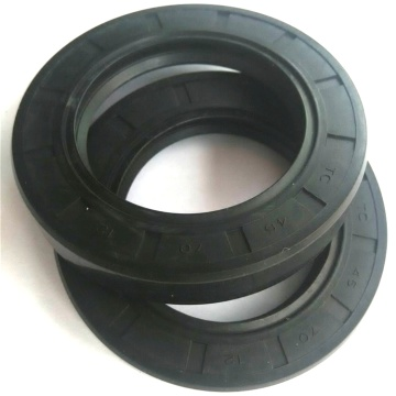 spring-energized rubber oil seal