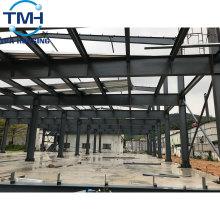dessin d'entrepôt de structure métallique d'usine de haute résistance