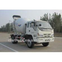 Factory Price Foton 3m3 small concrete mixer truck