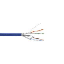 Высокоскоростной LSZH Cat6a 4 пары SSTP Массовый кабель