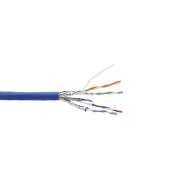 Alta velocidad LSZH Cat6a 4 pares SSTP Bulk Cable
