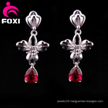 Manufacture Wholesale Fancy Gemstone Earrings