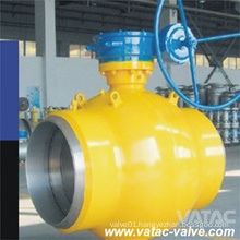 Gear Operated Soft Seat Full Welded Ball Valve