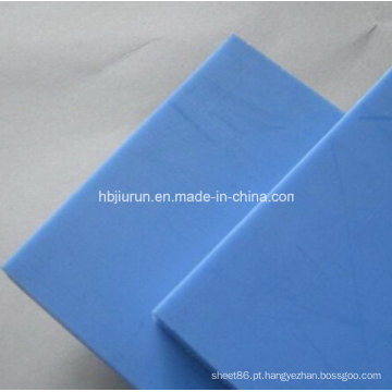 Folha de 100% Virgin Actcel POM Delrin na cor azul