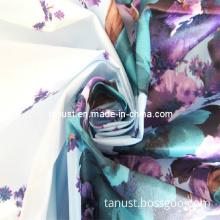 240t Polyester Pongee Taffeta Semi Dull Printed Fabric