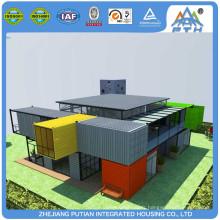 Empilable Installation rapide de taille personnalisée Maison 3 chambres préfabriquées maison modulaire