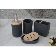 Cobuild wholesale hotel accessory complete polyresin bathroom set