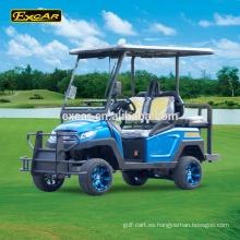 Excar Trojan batería 4 plazas golf car club coche carrito de golf eléctrico buggy de golf