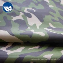 Tissu imprimé en taffetas numérique Camo 190t