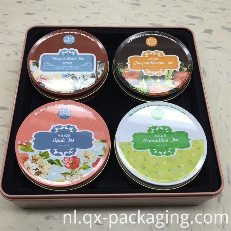 Hot Sales Rectangular Tin Containers