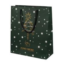 Рождественский бумажный пакет для подарочной упаковки