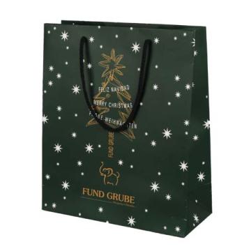Saco de papel de Natal para embalagem de presente