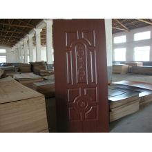 ХДФ меламин дверей кожи 4 мм